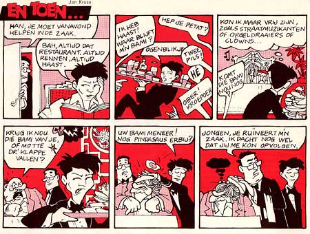 comic for Straks Studeren, by Jan Kruse (September 1982)