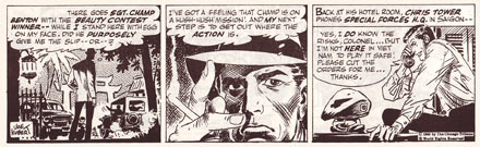 Tales from the Green Berets, by Joe Kubert (1966)