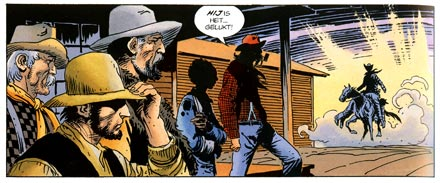 Tex, by Joe Kubert