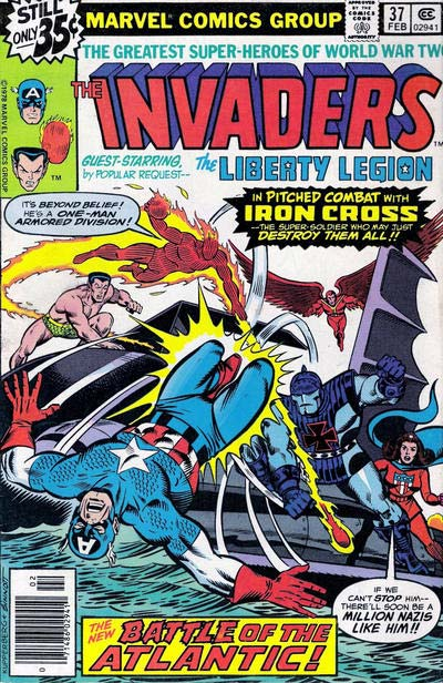 Invaders by Alan Kupperberg