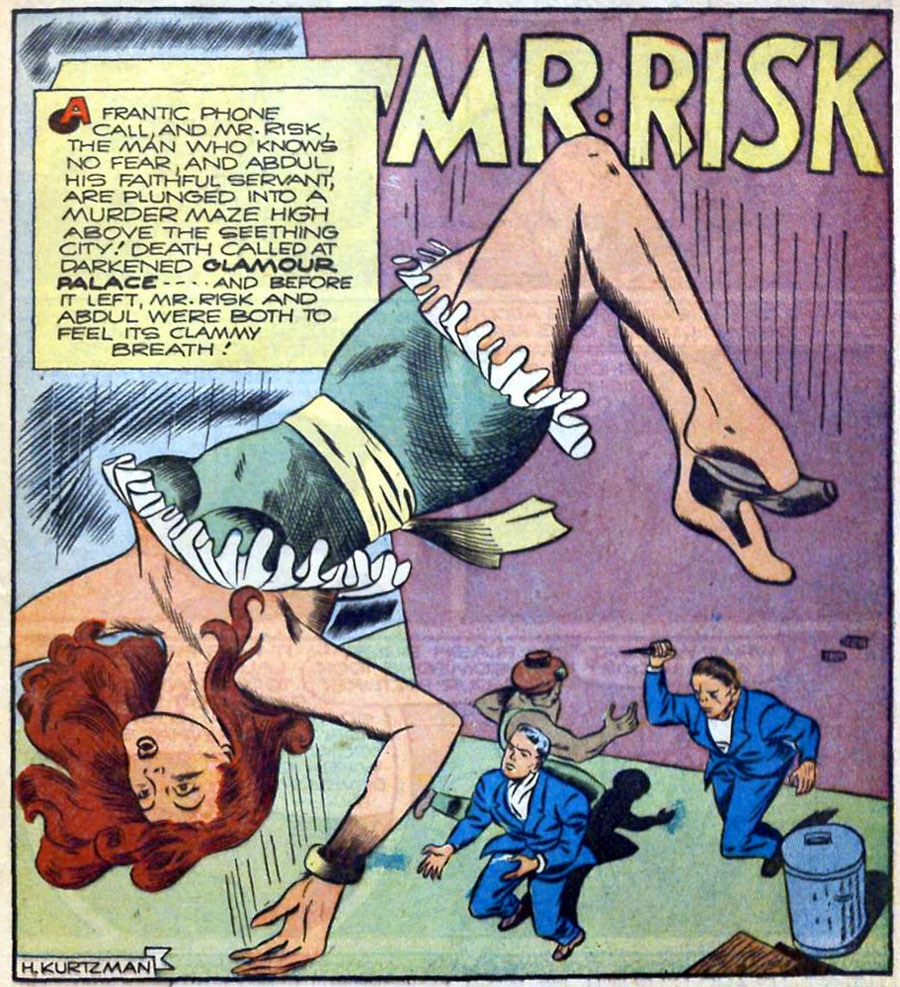 Mr. Risk, by Kurtzman