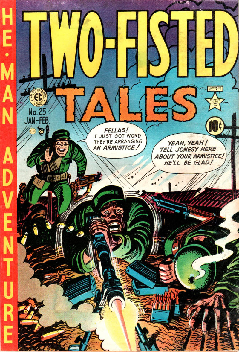 Two-Fisted Tales by Harvey Kurtzman