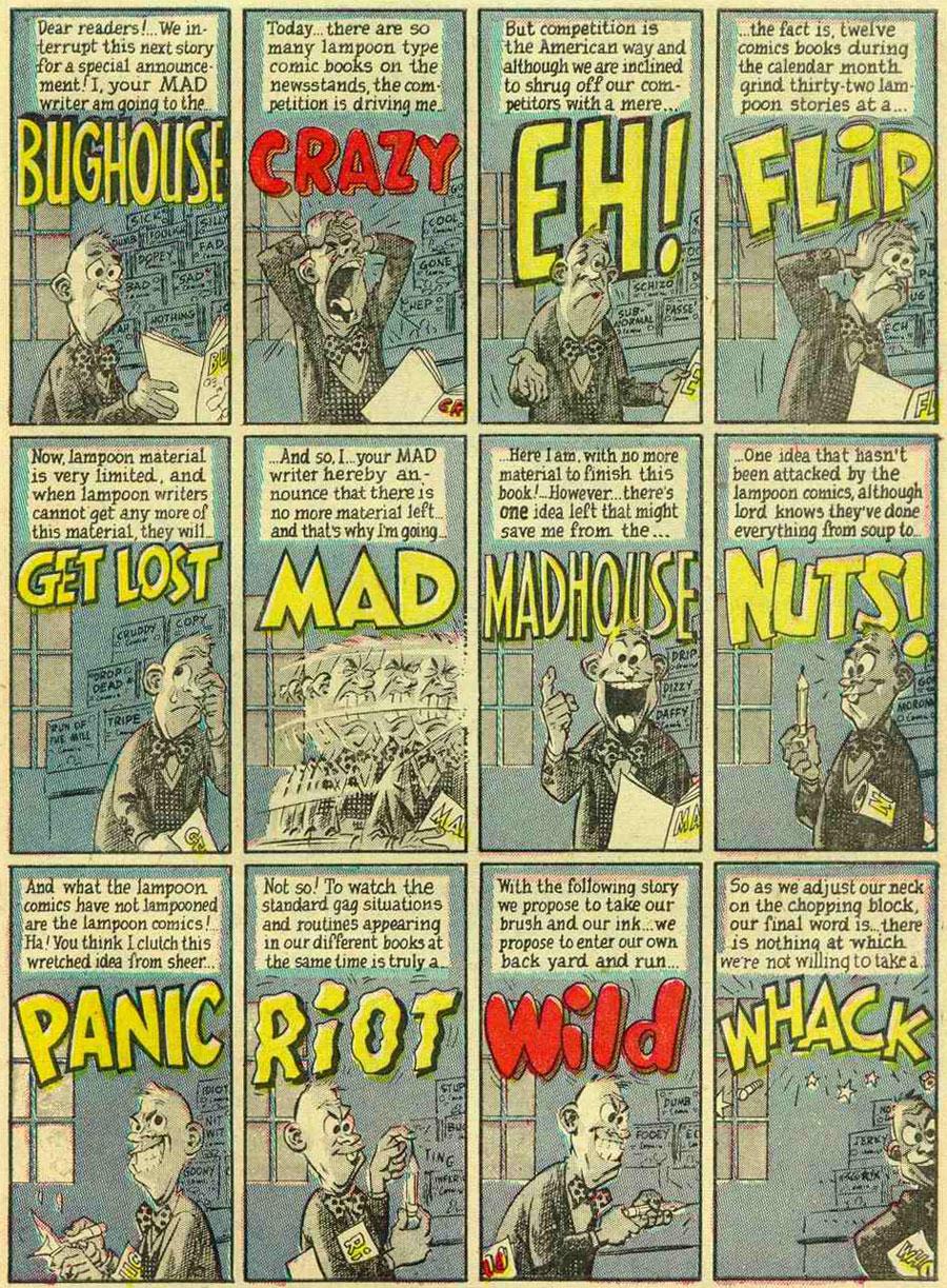 Harvey Kurtzman - Lambiek Comiclopedia