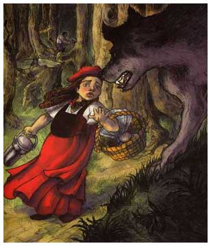 Le Petit Chaperon Rouge, by Benjamin Lacombe
