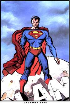 Superman, by J.O. Ladronn