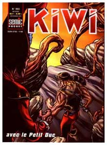 Cover for Kiwi, by Jean-Marc Lainé