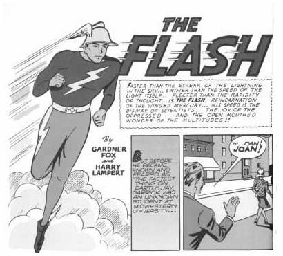 The Flash, by Harry Lampert