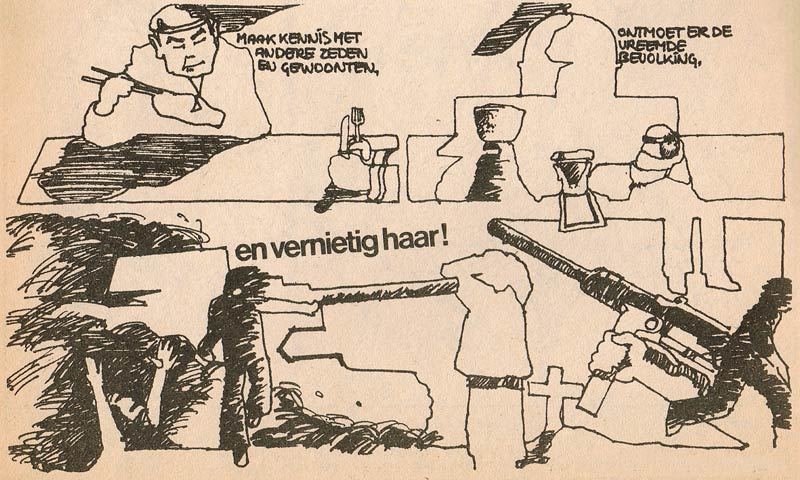 Comic from Stripje by Wim Langedijk