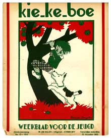 Cover for Kie-ke-boe #42, 1932