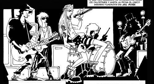 Guns n Roses by Ruben Lara
