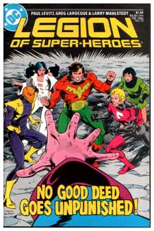 Legion of Super-Heroes, by Greg Larocque