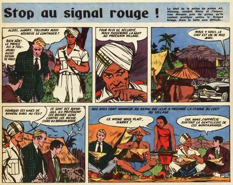 Stop au signal rouge!, by Jose Larraz