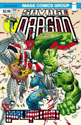 The Savage Dragon, by Erik Larsen