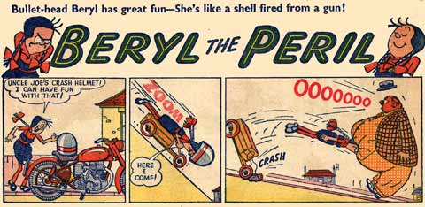 Beryl the Peril, by David Law