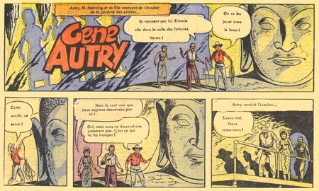 Gene Autry, credited to Bert Laws