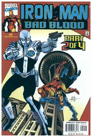 Iron Man Bad Blood, by Bob Layton