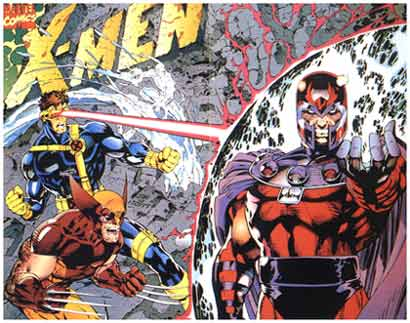 X-Men, by Jim Lee