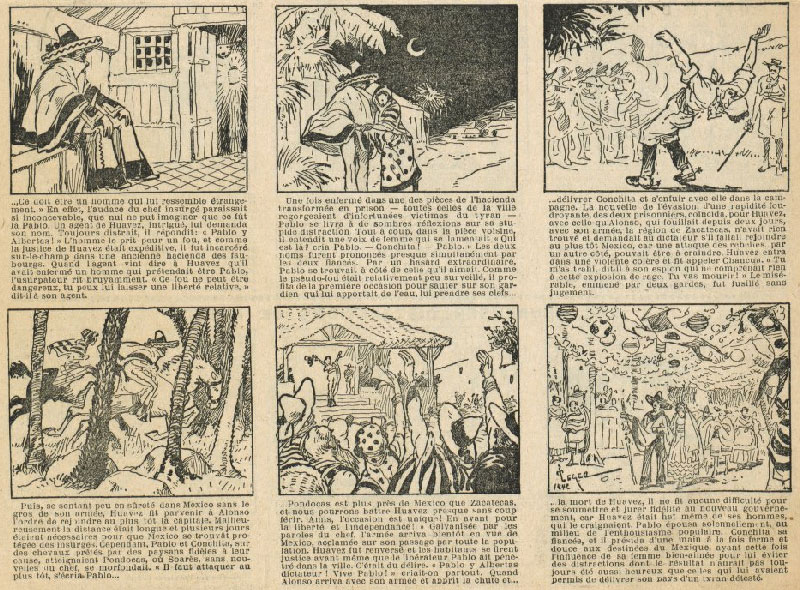 Comic art by Léger