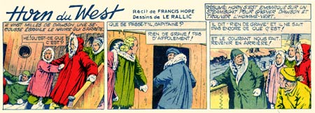 Horn du West, by Le Rallic (L'Intrepide, 1954)