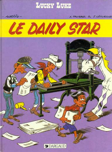 Lucky Luke, by Morris, Fauche and Léturgie