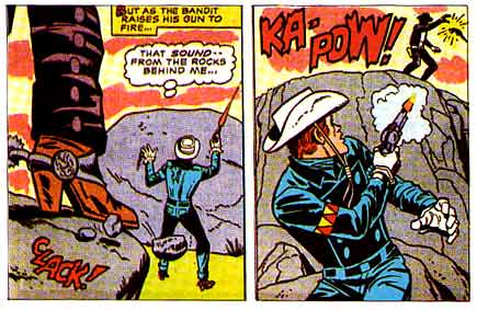 Rawhide Kid, art by Larry Lieber (1970)