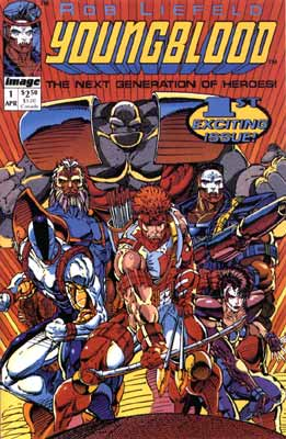 Youngblood, by Rob Liefeld