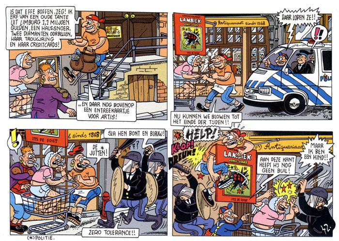 Lambiek in the Urbanus strip
