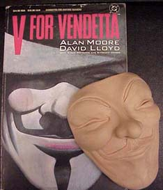 V for Vendetta, by David Lloyd and Alan Moore