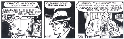 Dick Tracy, by Dick Locher