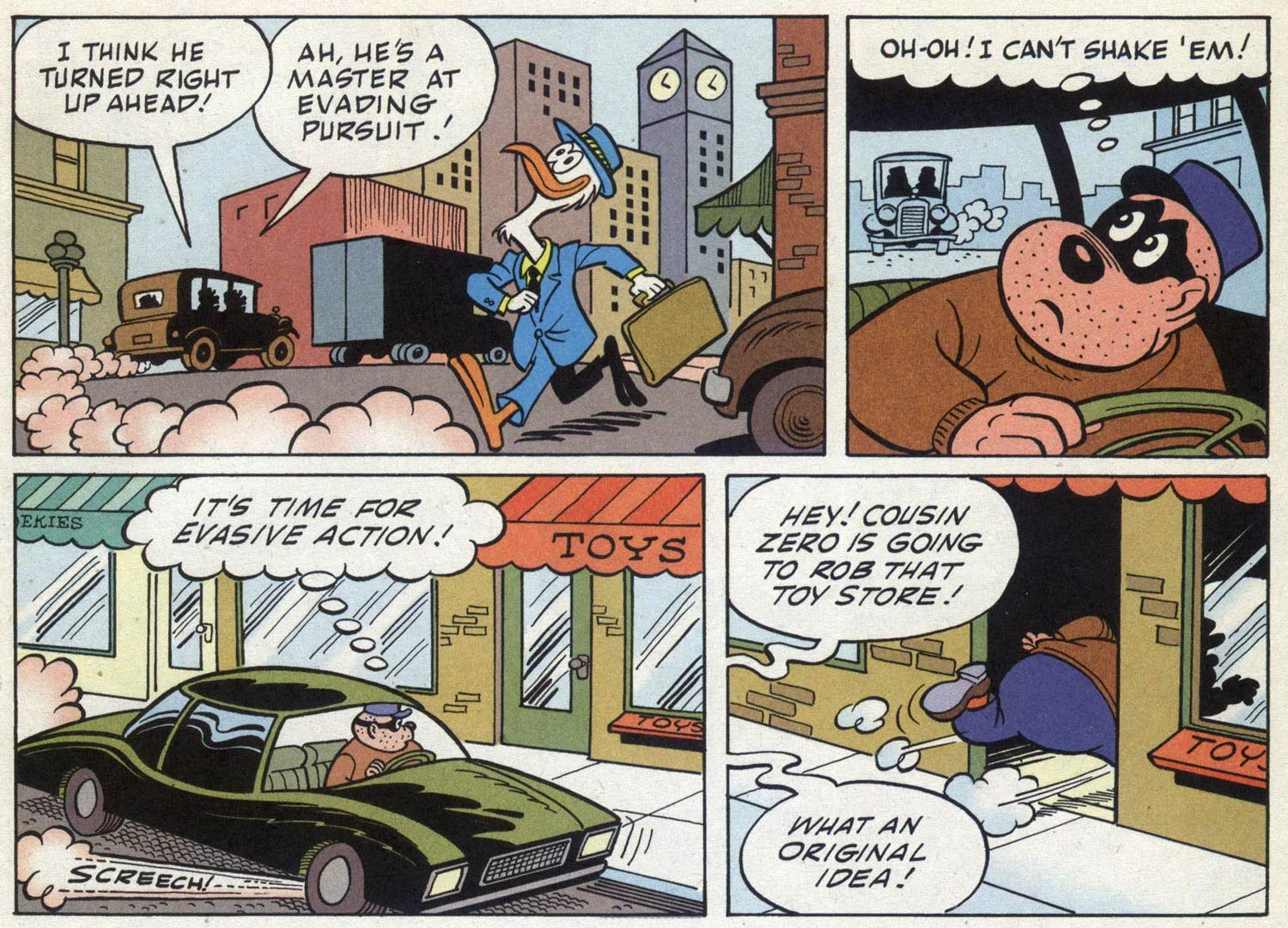 The Beagle Boys, by Vic Lockman
