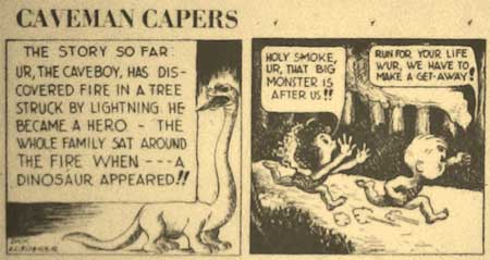 Caveman Capers, by Dick Loederer