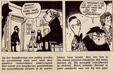 Berend Plunkerman, by Willy Lohmann (De Spiegel, 1964)