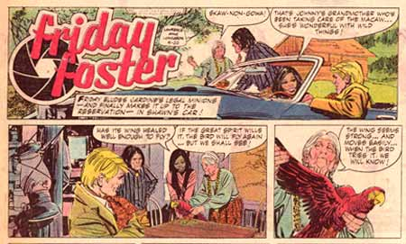 Friday Foster, by Jorge Longaron (1970)