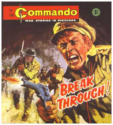 Commando, by Rafael Lopez Espi (1967)