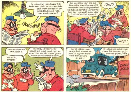 Beagle Boys, by Lopez Guardia