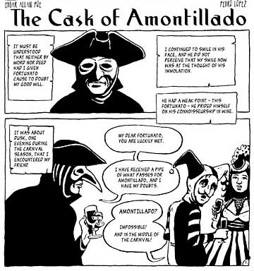 The Cask of Amontillado, by Pedro Lopez
