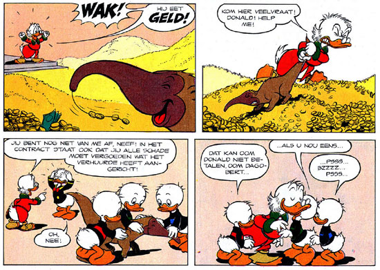 Donald Duck, by Endre Lukacs
