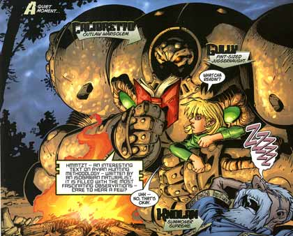 comic art by Joe Madureiro