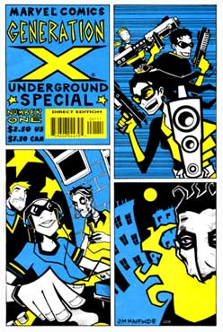 Generation X Underground Special, by Jim Mahfood