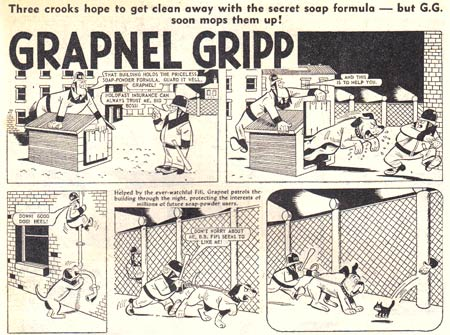 Grapnel Gripp (The Hornet #302), by James Malcolm