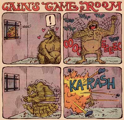 Cain's Game Room by Dave Manak (House of Mystery 1977)