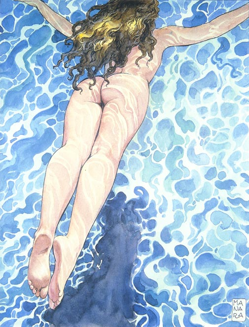 with sexy artwork by Milo Manara, 1997