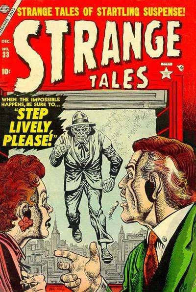 Strange Tales, by Joe Maneely