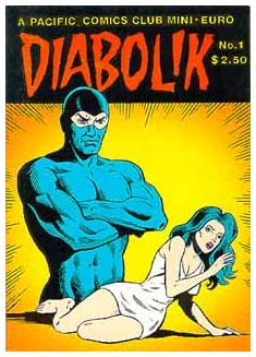 Diabolik, by Gino Marchesi