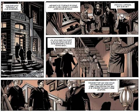Mister Hyde contre Frankenstein by Antonio Marinetti