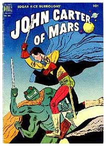 John Carter of Mars, by Jesse Marsh