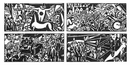 Foire d'Opdorp, by Frans Masereel