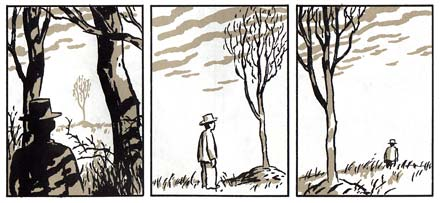 comic art by David Mazzucchelli