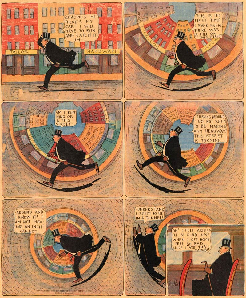 Dream of a Rarebit Fiend by Winsor McCay