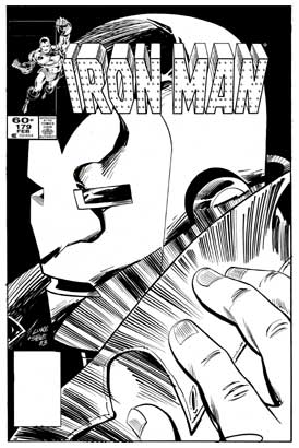 Iron Man, by Luke McDonnell